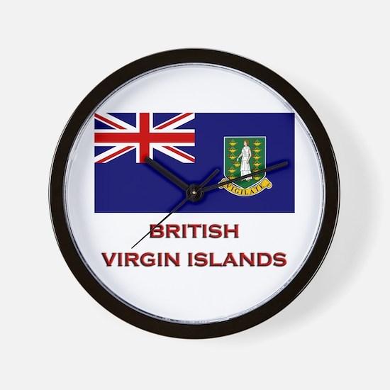 The British Virgin Islands Flag Merchandise Wall C