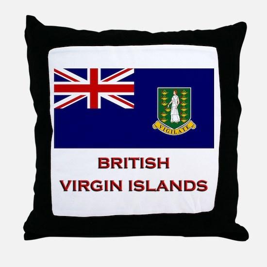 The British Virgin Islands Flag Merchandise Throw