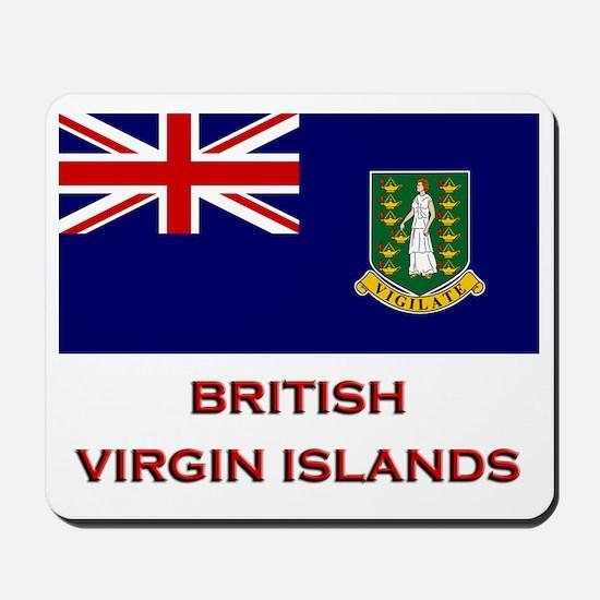 The British Virgin Islands Flag Merchandise Mousep