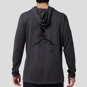 Mountain Bike Mens Hooded Shirt