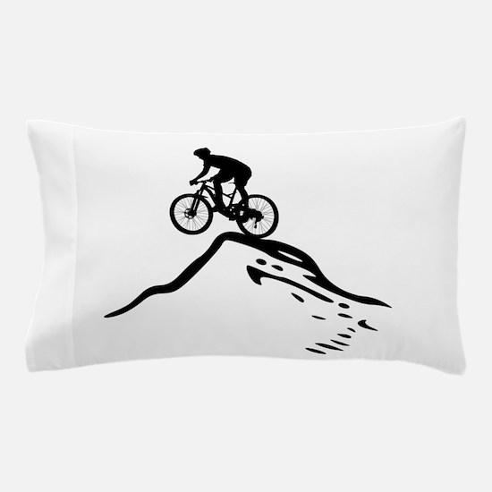 Unique Mountain biking Pillow Case