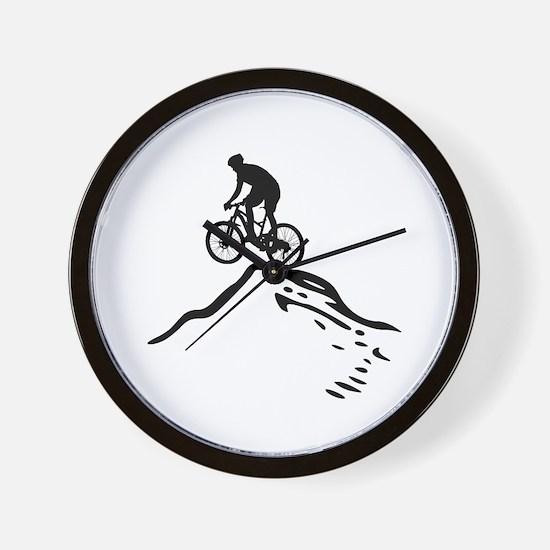 Unique Trailing Wall Clock