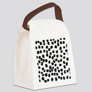 Dalmatian Pattern. Canvas Lunch Bag