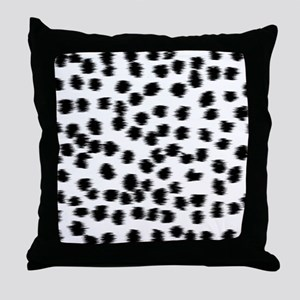 Dalmatian Pattern. Throw Pillow
