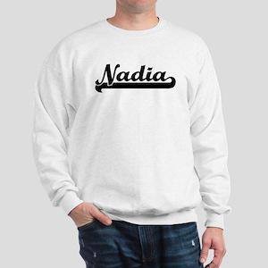 Black jersey: Nadia Sweatshirt