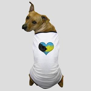 Bahamas Heart Dog T-Shirt