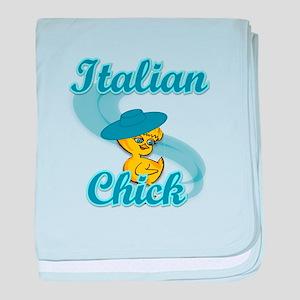 Italian Chick #3 baby blanket