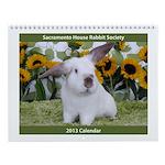Sacramento House Rabbit Society Wall Calendar