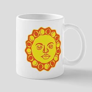 Cool Retro Sun Graphic Mug