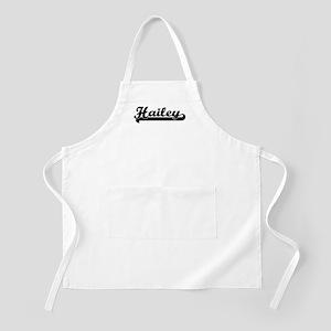 Black jersey: Hailey BBQ Apron
