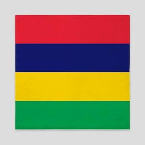 Flag Of Mauritius Queen Duvet
