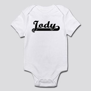 Black jersey: Jody Infant Bodysuit