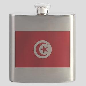 Flag of Tunisia Flask