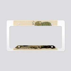 Ruffled Grouse License Plate Holder