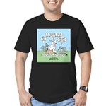 Don't Call me Rabbit Men's Fitted T-Shirt (dark)