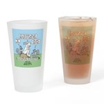 Don't Call me Rabbit Drinking Glass