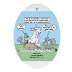 Don't Call me Rabbit Ornament (Oval)