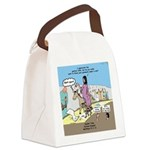 Grand Entrance Canvas Lunch Bag
