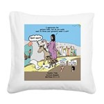 Grand Entrance Square Canvas Pillow