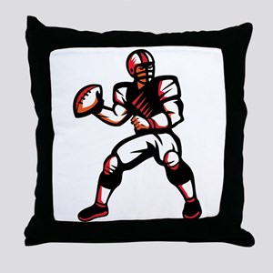 Quarterback Throw Pillow