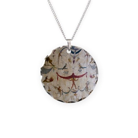 The Judgement - Assisi Italy Fresco Necklace Circl
