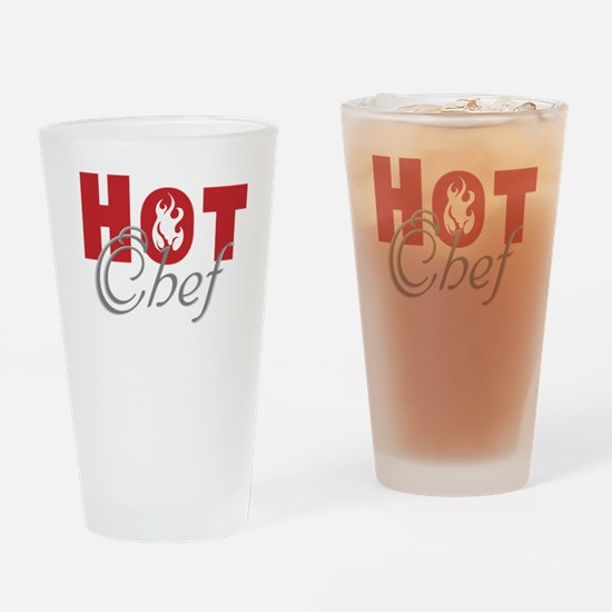 Hot Chef Drinking Glass