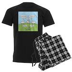 Lost Sheep of Israel Men's Dark Pajamas