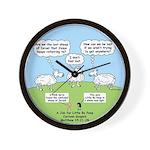 Lost Sheep of Israel Wall Clock