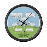 Lost Sheep of Israel Large Wall Clock