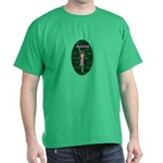Programmer Girl - Nerds Rule! Dark T-Shirt