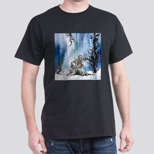 Awesome snow tiger with fantasy girl T-Shirt