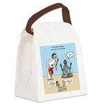 Baptism by Fire Canvas Lunch Bag