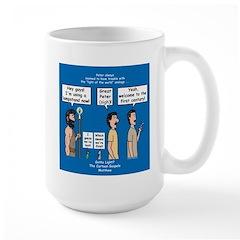 Light Shine Large Mug