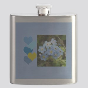 Forget-Me-Not Flask