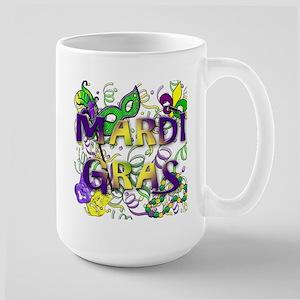 MARDI GRAS Large Mug