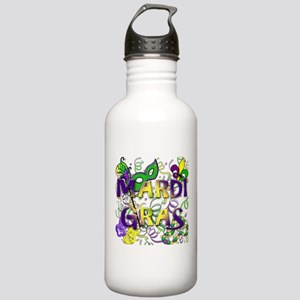 MARDI GRAS Stainless Water Bottle 1.0L