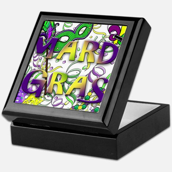 MARDI GRAS Keepsake Box