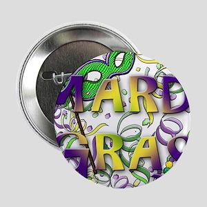"MARDI GRAS 2.25"" Button"