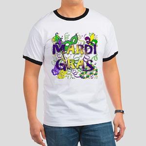 MARDI GRAS Ringer T