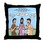 Sons of Thunder Throw Pillow