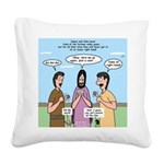 Sons of Thunder Square Canvas Pillow