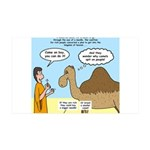 Camel Conundrum 35x21 Wall Decal