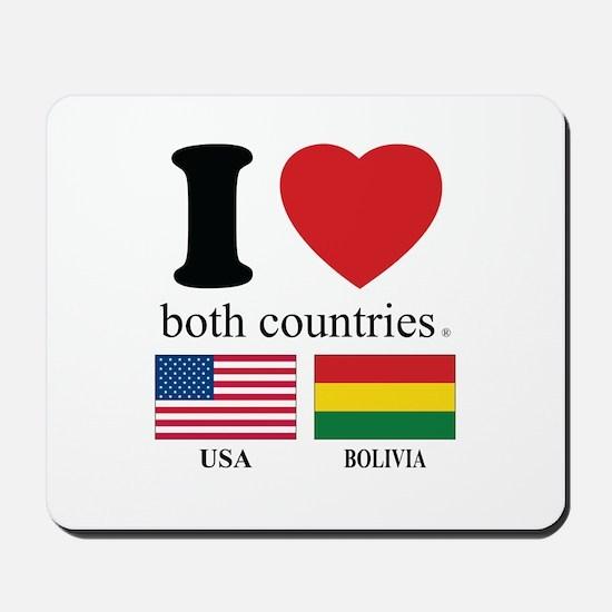 USA-BOLIVIA Mousepad