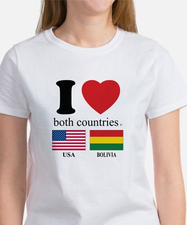 USA-BOLIVIA Women's T-Shirt