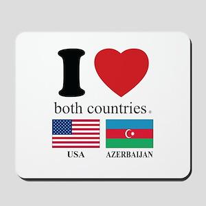 USA-AZERBAIJAN Mousepad