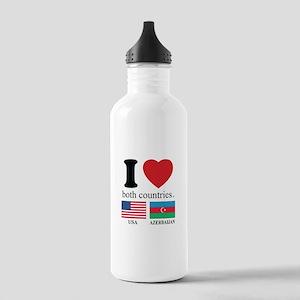 USA-AZERBAIJAN Stainless Water Bottle 1.0L