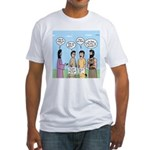 Rumor Mill Fitted T-Shirt