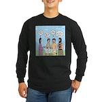 Rumor Mill Long Sleeve Dark T-Shirt
