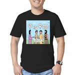 Rumor Mill Men's Fitted T-Shirt (dark)