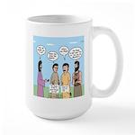 Rumor Mill Large Mug